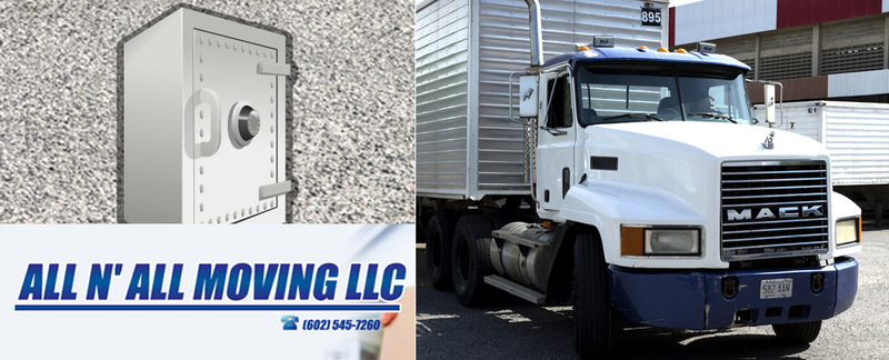 All N All Moving LLC specializes in safe moves in Peoria, AZ