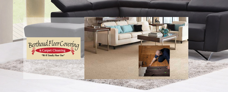 Berthoud Floor Covering & Carpet Cleaning Installs Carpet in Berthoud, CO