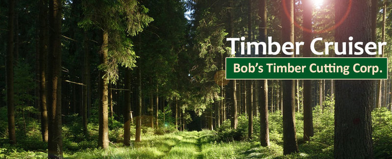 Bob's Timber Cutting Corp. Offers Timber Cruising in Oregon City, OR