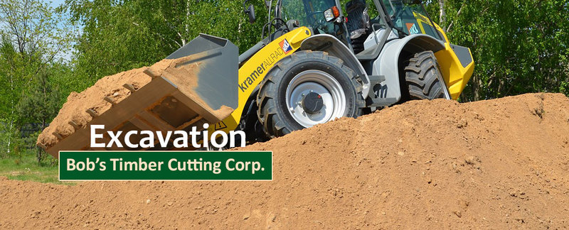 Bob's Timber Cutting Corp. Offers Excavation in Oregon City, OR