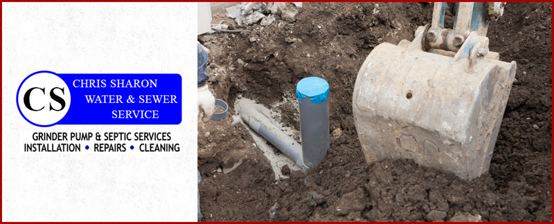 Chris Sharon Water and Sewer Service Offers Septic System Repairs in Richmond, KY