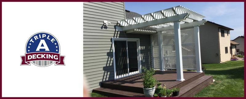 Triple A Decking LLC  Builds Aluminium Pergolas in Mandan, ND