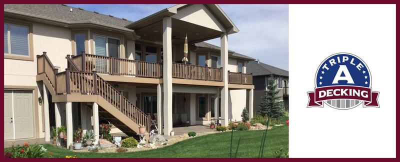 Triple A Decking LLC  is a deck builder in Mandan, ND