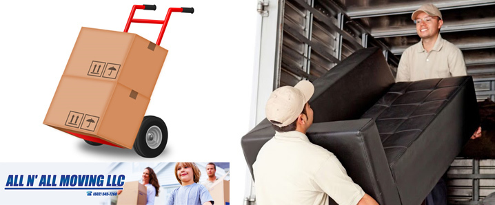 All N All Moving LLC specializes in residential moving in Peoria, AZ