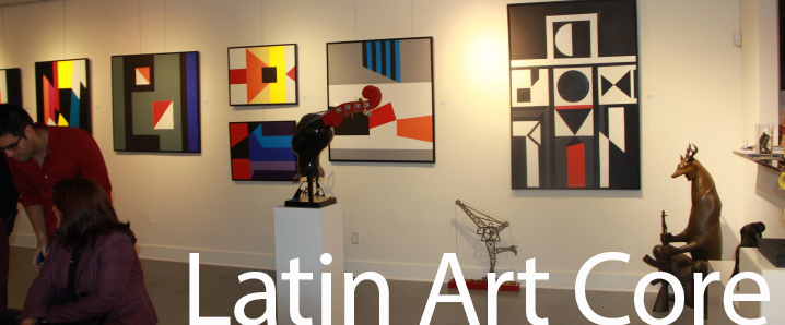 Latin Art Core showcases art gallery in Miami, FL
