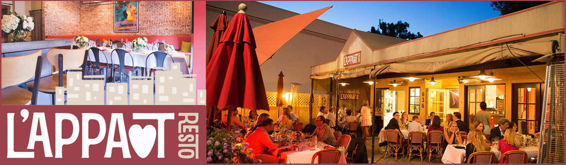 L'Appart Resto Is A French Restaurant In San Anselmo, CA