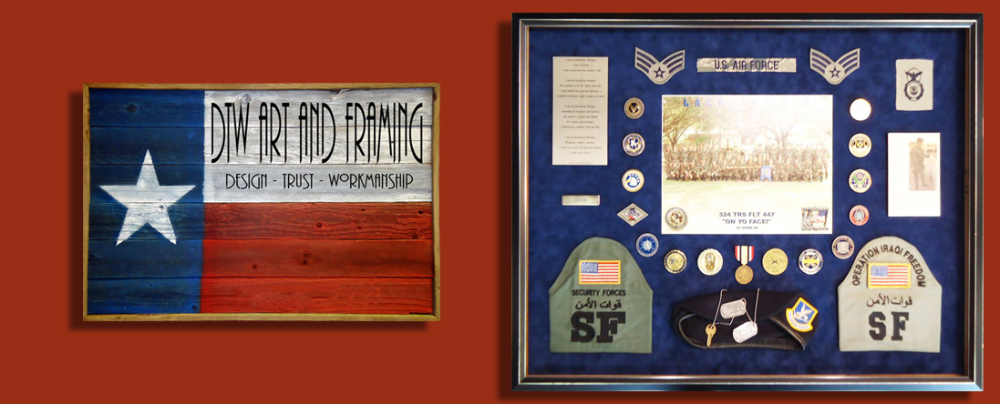 DTW Art and Framing Performs Custom Framing in Austin, TX