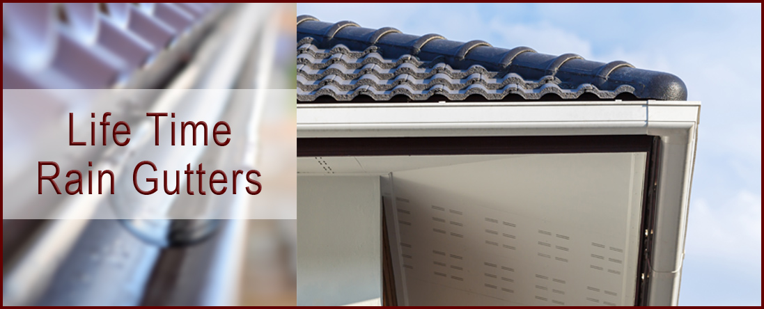 Seamless And Aluminum Gutters