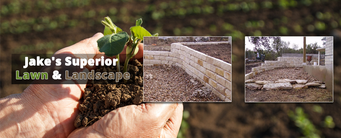Landscape Construction - Jake's Superior Lawn & Landscape Provides Landscaping Services In