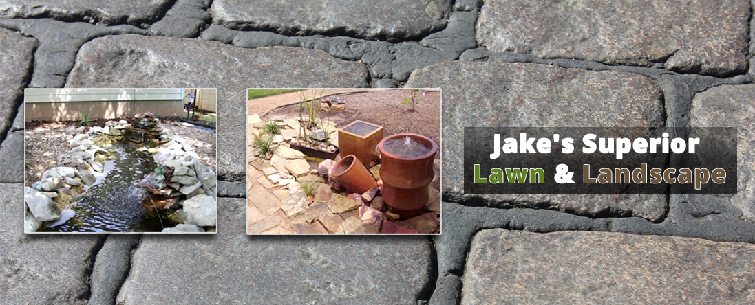 Stone Work - Jake's Superior Lawn & Landscape Provides Landscaping Services In