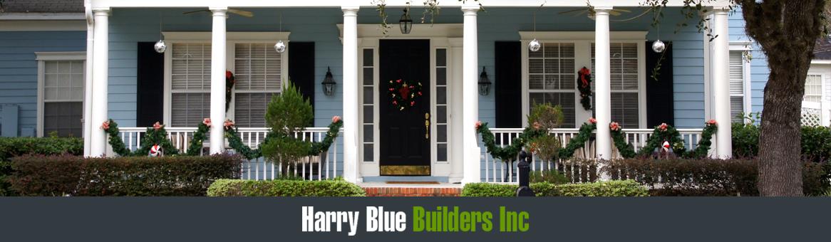 Harry blue header