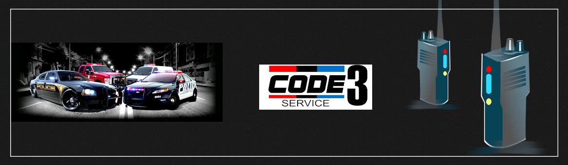 Code 3 service header