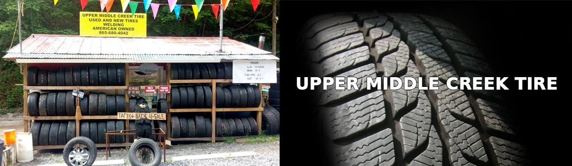 Upper middle creek tire header