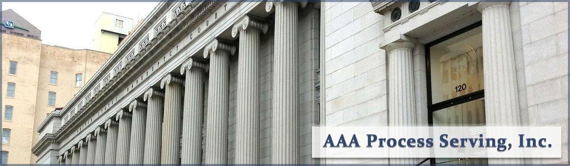 Aaa process serving header