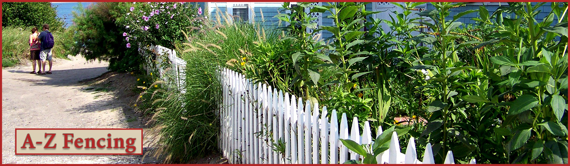 A z fence header