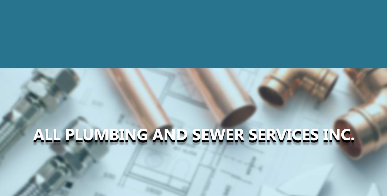 All plumbing   sewer header