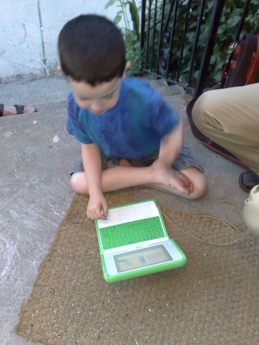 Trying-olpc