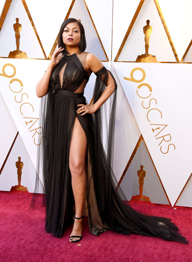 Oscars 2018 Fashion Taraji P Henson