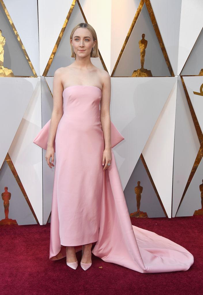 Saoirse Ronan Oscars 2018 Fashion