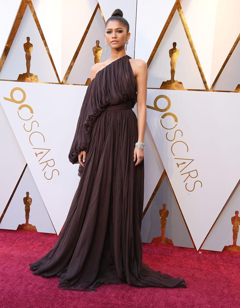 Zendaya Oscars 2018 Fashion