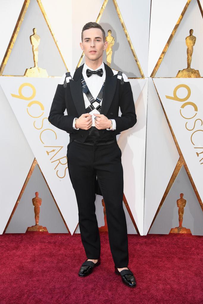 Adam Rippon 2018 Oscars Fashion