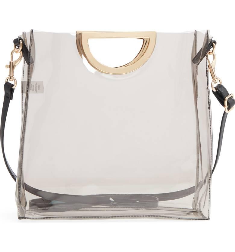 BPMini Translucent Metal Handle Bag