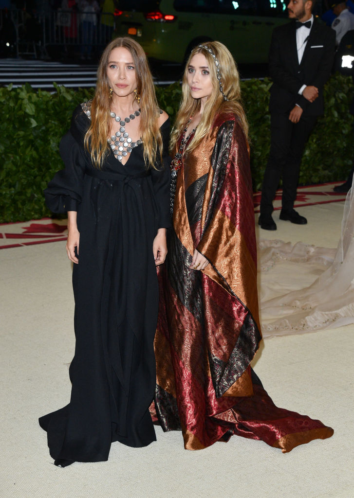 Mary-Kate & Ashley Olsen Met Gala 2018