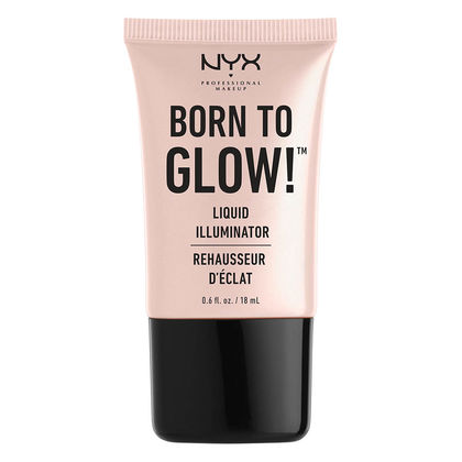 nyx born to glow liquid illuminator, best sweatproof drugstore makeup