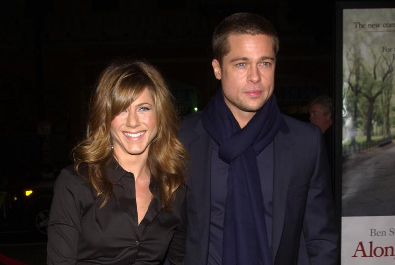 Brad Pitt Is Texting Jennifer Aniston Again, Just Like Every Fuckboy Post-Breakup brad 20pitt 20jennifer 20aniston