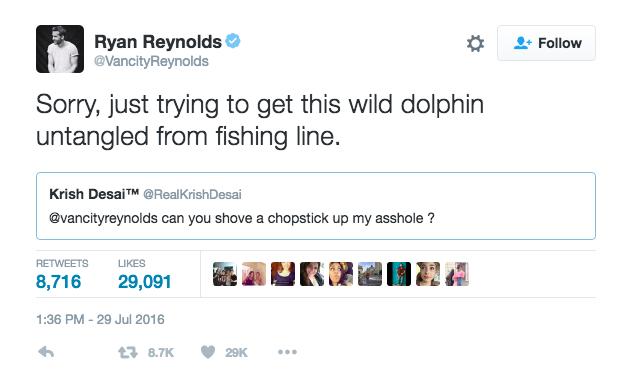 Ryan Reynolds Tweet 4