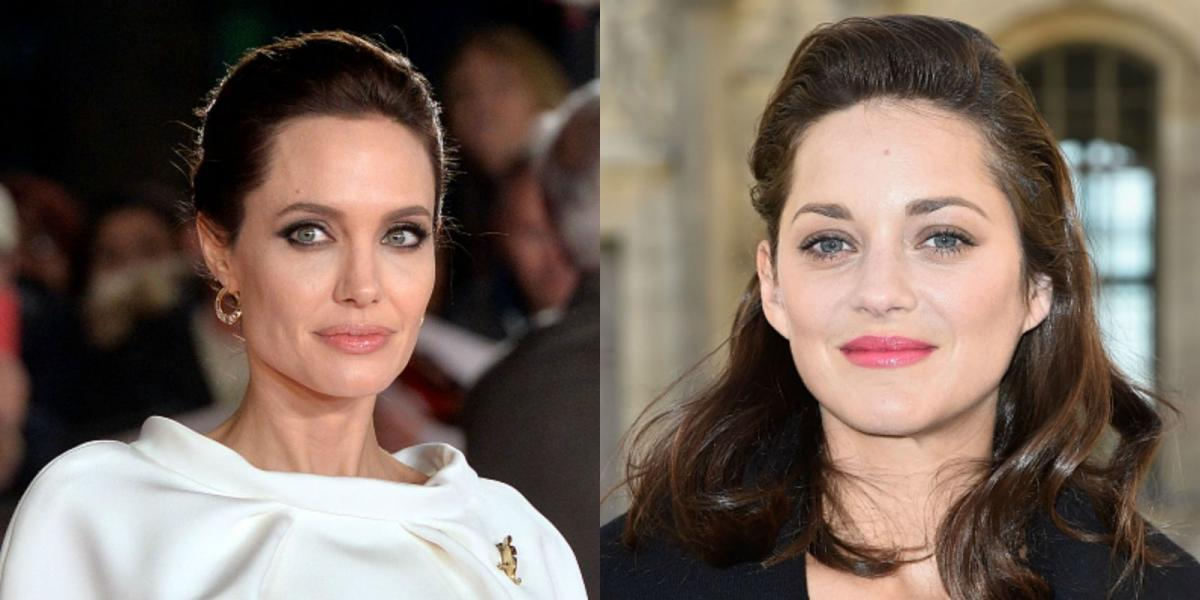 Marion Cotillard and Angelina Jolie
