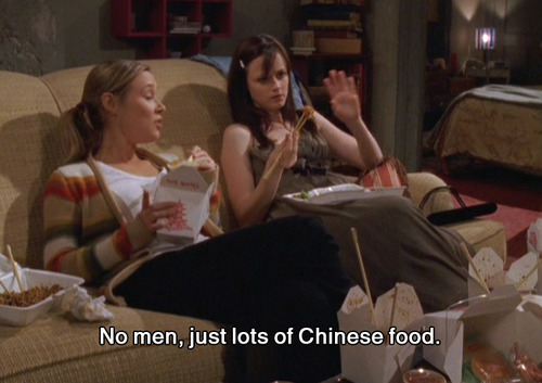 Chinese Food Gilmore Girls