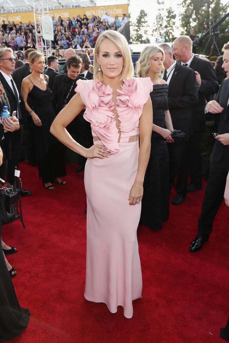 Carrie Underwood Golden Globes