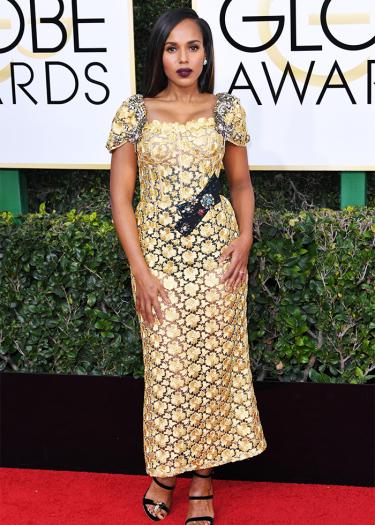 Kerry Washington Golden Globes