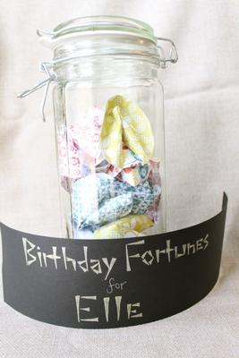 Birthday Fortunes