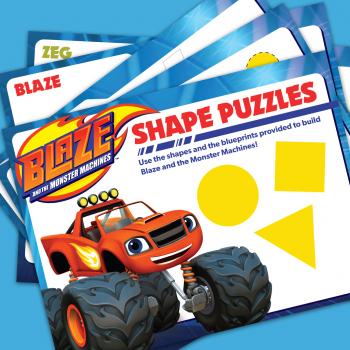 Blaze Shape Puzzles