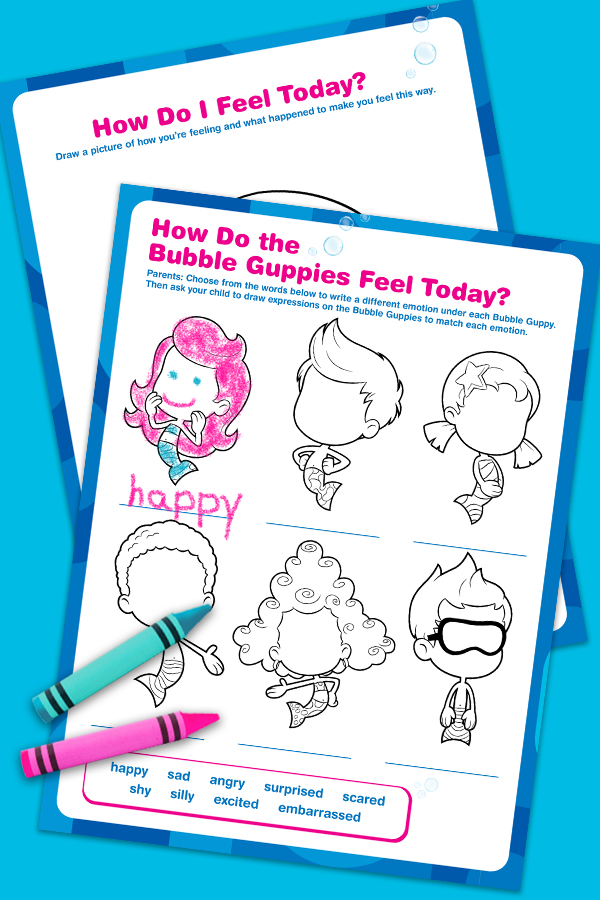 Bubble Guppies Feelings Pack