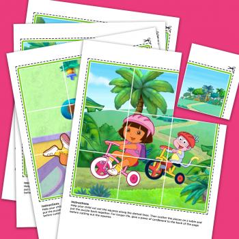 Dora's Picture Puzzles