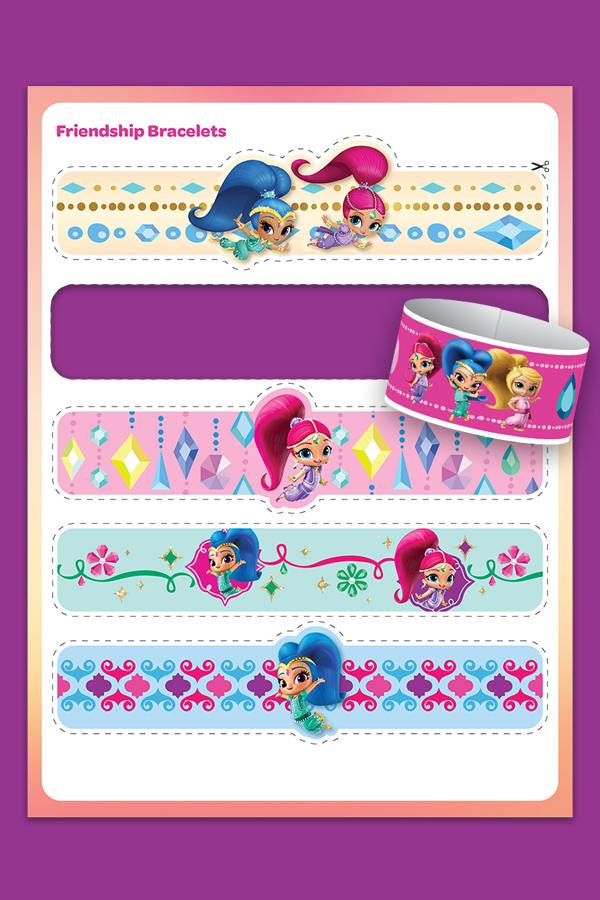Shimmer and Shine Friendship Bracelets