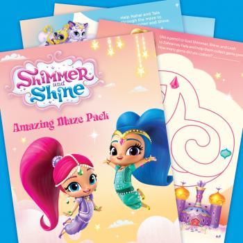 Shimmer & Shine Amazing Maze Pack