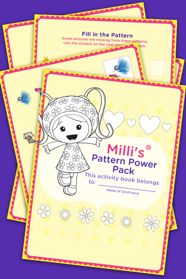 Milli's Pattern Activity Pack