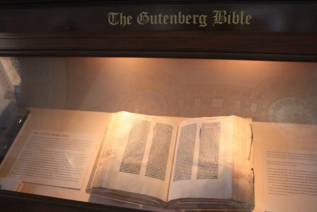 Library of Congress Bible Collection, Washington, DC