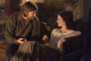 Josh Hartnett as Ethan Chandler and Eva Green as Vanessa Ives in Penny Dreadful (season 2, episode 7): Jonathan Hession/SHOWTIME
