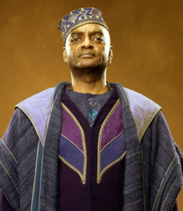 Kingsley Shacklebolt in the Harry Potter films