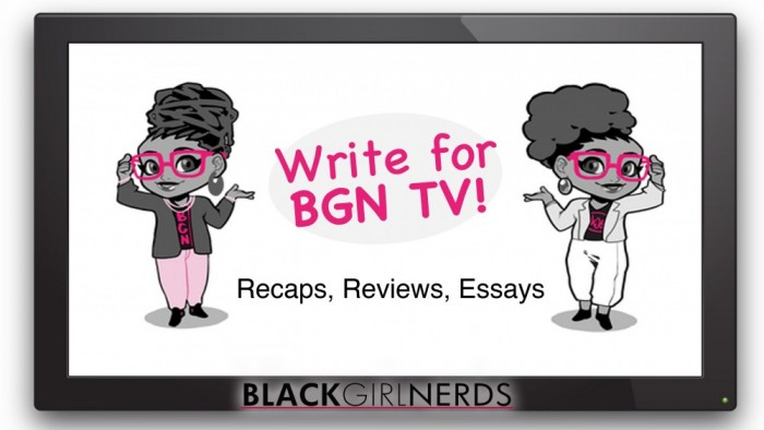 BGN TV Call for Writers