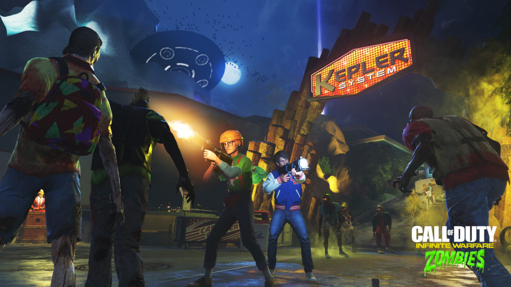 cod infinite warfare zombies in spaceland