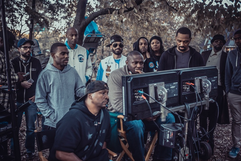 Deon Taylor + Cast Watching Playback