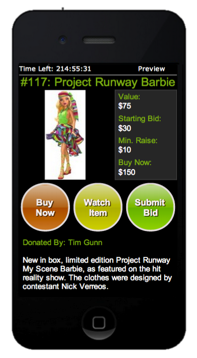 Buddy - Silent - Project Runway Barbie