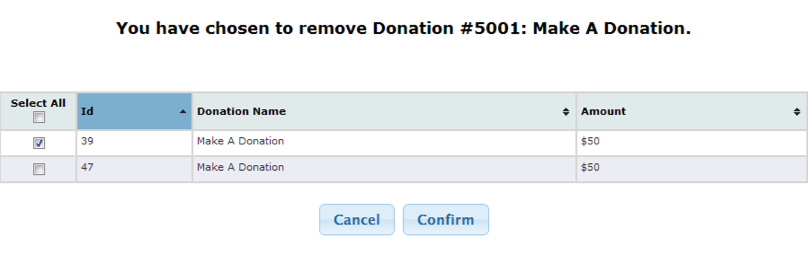 Buddy - Remove Donation