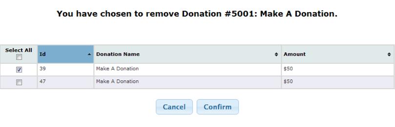 Buddy - Remove Donation